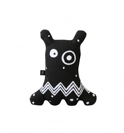 Big-eyed monster Black