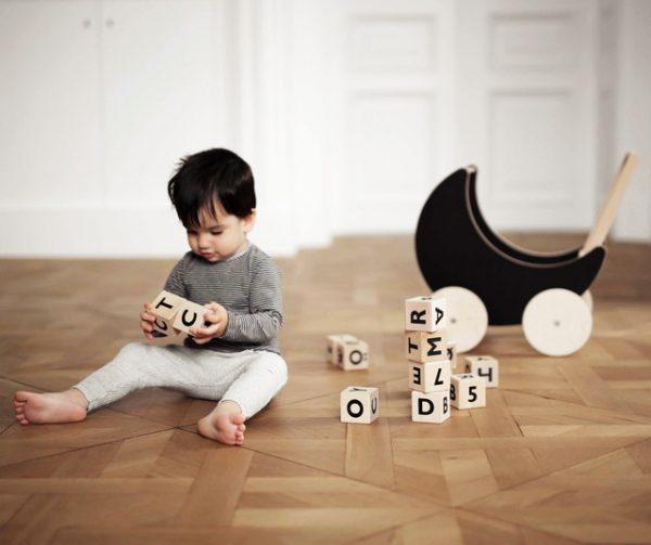 Alphabet Blocks and Boy